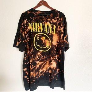 Distressed NIRVANA T-Shirt